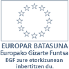 Europar Batasuna / Unión Europea · Europako Gizarte Funtsa / Fondo Social Europeo